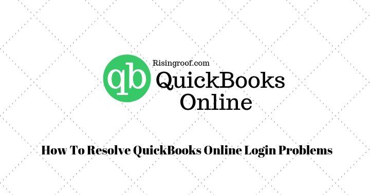 QuickBooks Online Login Problems