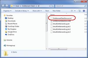 remove the .ecml file
