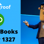 QuickBooks Error 1327