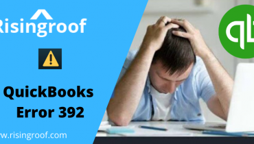 QuickBooks Error 392